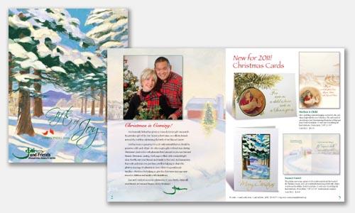 catalogue design samples