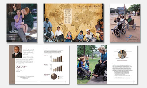 Graphic Design Sample: Annual Report Design