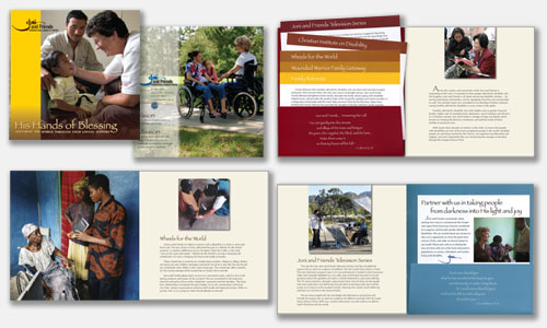 Graphic Design Sample: President's Retreat Ask Book Design