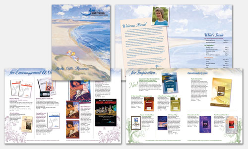 Graphic Design Portfolio Sample: Spring Resource Catalog Design