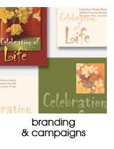 branding & campaign design portfolio page