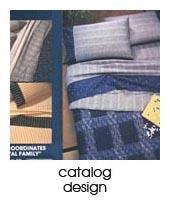 catalog design portfolio page