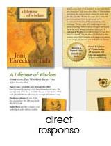 direct response design portfolio page