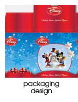packaging design portfolio page