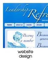 website design portfolio page