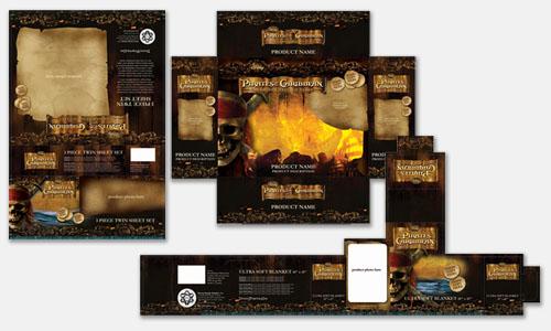 Graphic Design Sample: Packaging Design