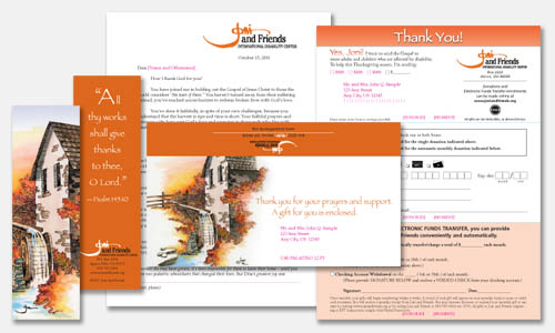 Direct Response Design Portfolio: Fall Direct Response Mailer Design