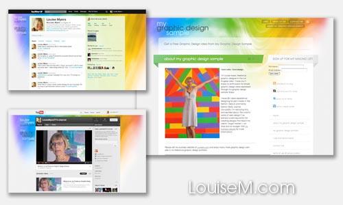 website & social media branding design