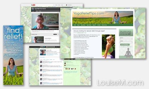 website and social media branding design