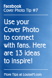 13 Facebook Fan Page Cover Photo Ideas to Connect with Fans