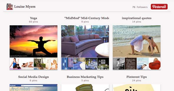 Add a Pinterest Tab to your Facebook Fan Page: all boards