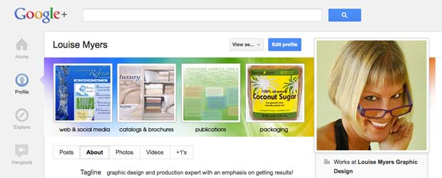 How to Create a Google Plus Cover Photo (links to my profile)