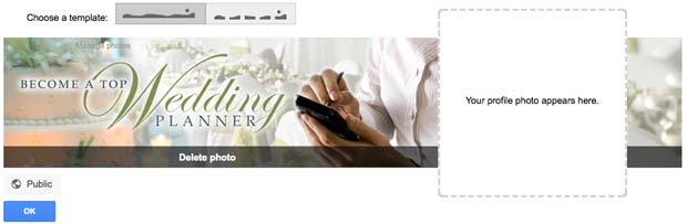 How to Create your Google Plus Cover Photo step 7
