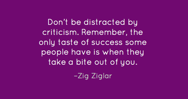 Simple Zig Ziglar quote graphic that got many Facebook shares.