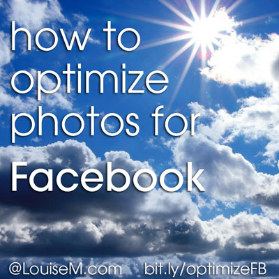 How to Optimize Photos for Facebook