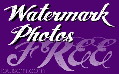 Free Watermark Software & Sites to Watermark Online