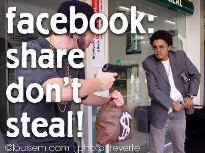 Do Share Facebook Photos – DON'T Download Facebook Photos!