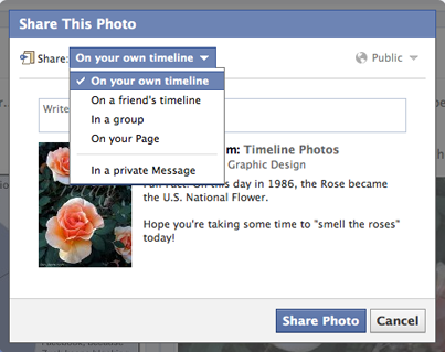 How to Share a Post on Facebook via PC/Mac