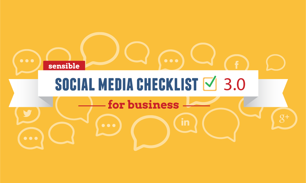 Avoid overwhelm! This social media checklist will help small businesses and solopreneurs get focused on a social media plan. Pin it, or download and print!