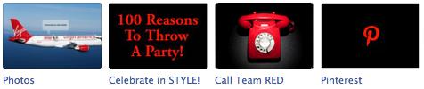 Facebook App Images: RED Event Design Fan Page
