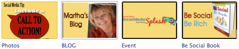 Facebook App Images: Martha Giffen Fan Page