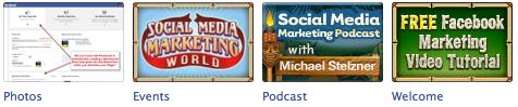 Facebook App Images: Social Media Examiner Fan Page