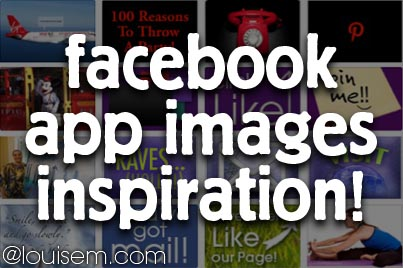 Facebook App Images: Cool Ideas for Your FB Fan Page
