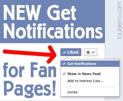 "How to Beat Facebook Edgerank: NEW ""Get Notifications"""
