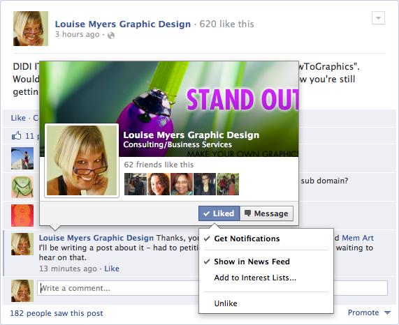 How to Beat Facebook Edgerank: Get Notifications