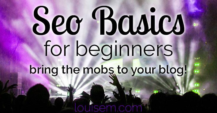 SEO Basics for Beginners header image