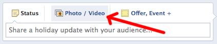 facebook marketing strategy: uploading images for blog posts