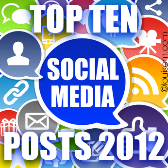 Top 10 Social Media Posts of 2012