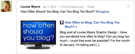 Best Blog Images on Google+