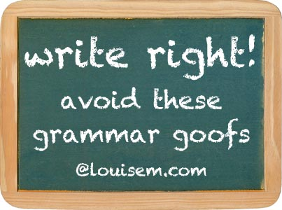 improve your blog: avoid these common grammar errors!