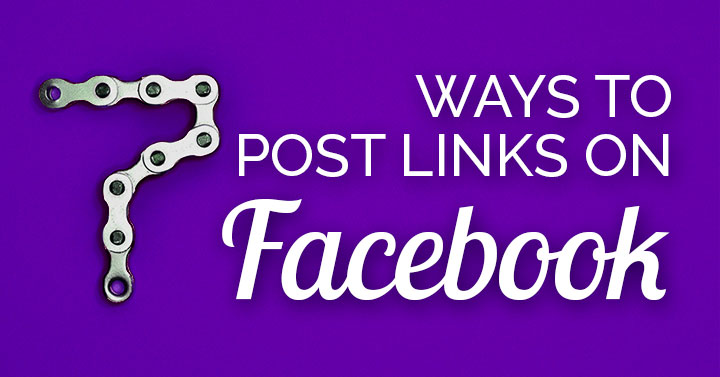 How To Post A Link On Facebook banner