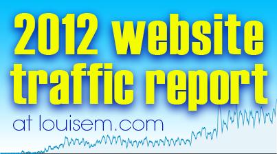 Website Traffic Report 2012