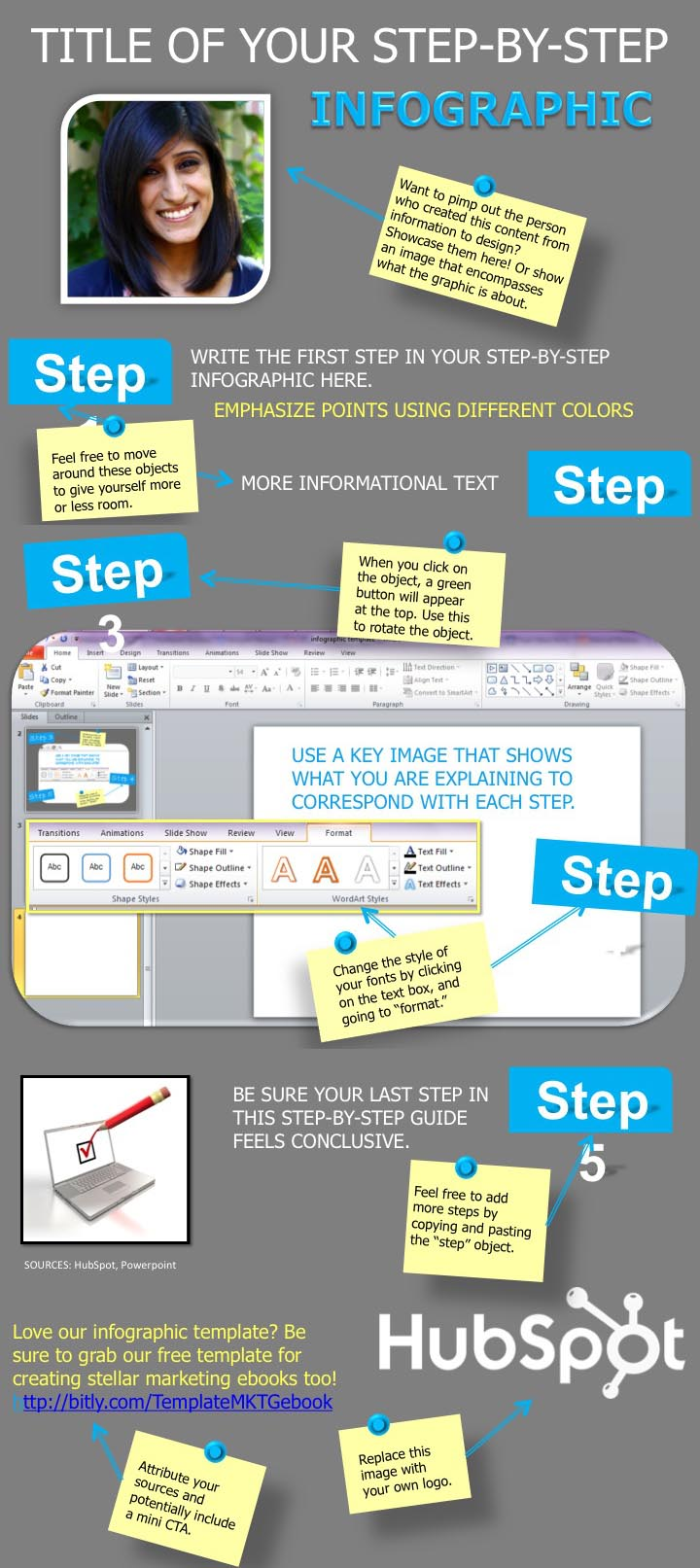 how to create infographics in Powerpoint with free templates