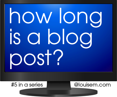 How Long is a Blog Post?