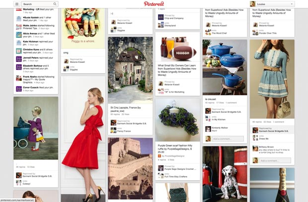 Pinterest pictures feed