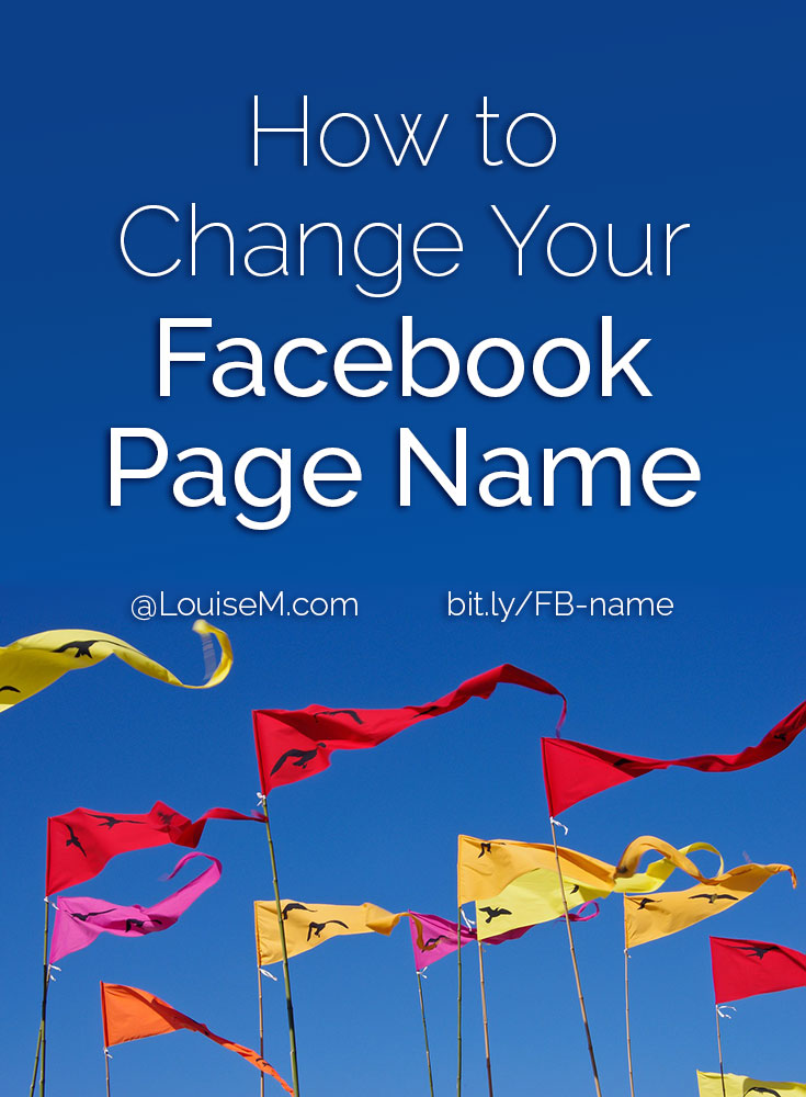 Want to change your Facebook Page name? Here are step-by-step instructions to change your Fan Page name, whether you have under or over 200 fans!