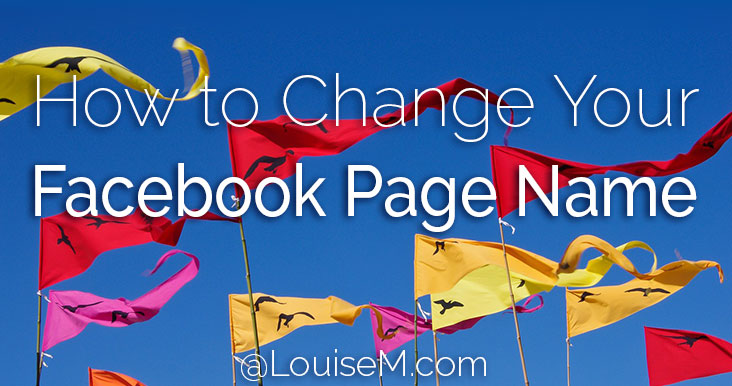 Facebook appeal page name change request