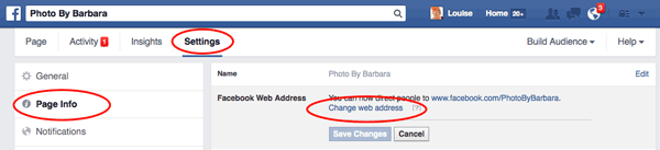 How to Change Your Facebook Page URL from Page