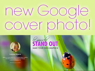 NEW Google Plus Cover Photo Size