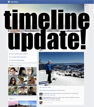 Timeline Update! New Facebook Timeline Has Just 1 Column