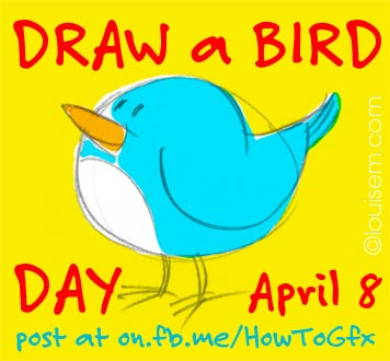 Best Picture Quotes #2: Draw a Bird Day
