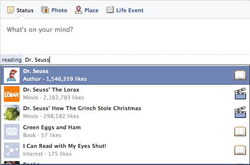 Facebook Emoticons in Status Updates