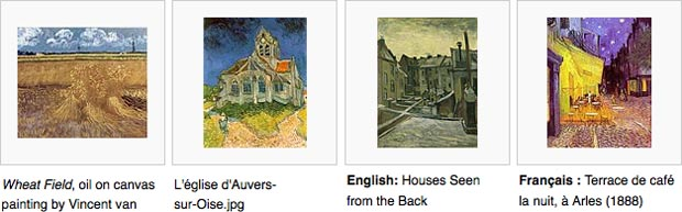 FREE Public Domain Art search results on WikiMedia.