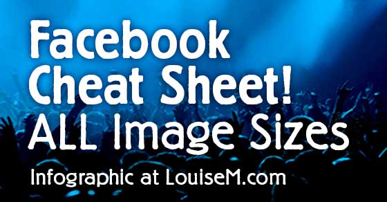 Facebook Cheat Sheet: Sizes and Dimensions 2014