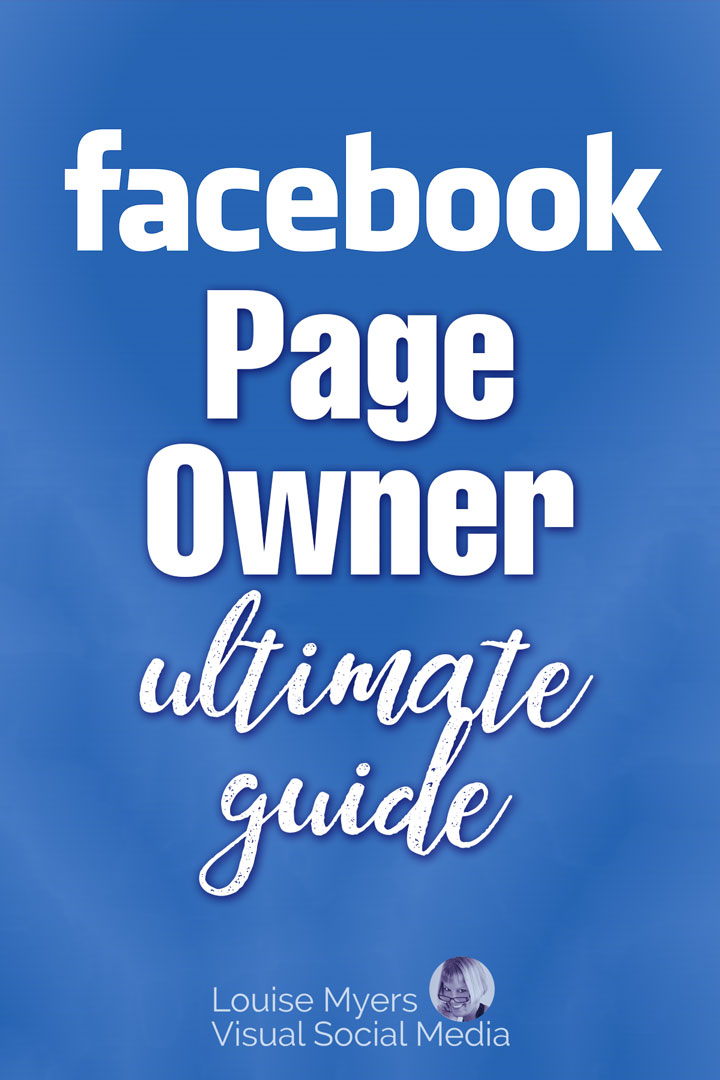 Facebook Page Owner pinnable image