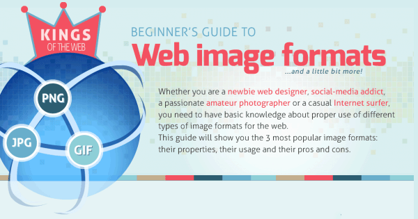 Web Image Formats: All You Need to Know on an Infographic!